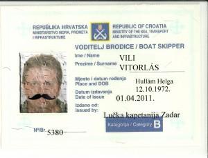 hajó jogosítvány