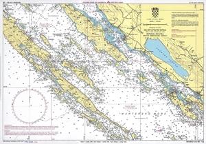 Horvát B hajóvezetői tanfolyam Yachting College térkép