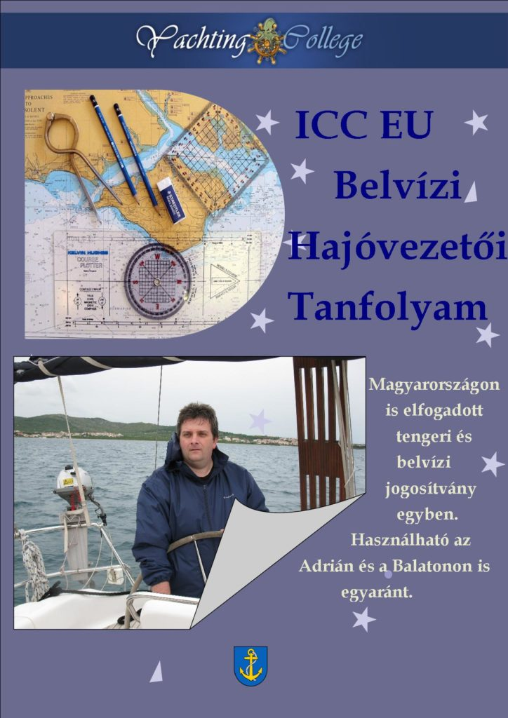 ICC EU belvízi hajóvezetői tanfolyam